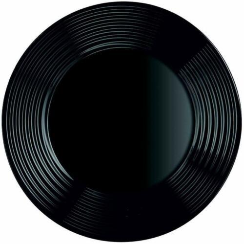 Luminarc Harena Black Dinner Plate Diner Plate Flat Plate 25 CM