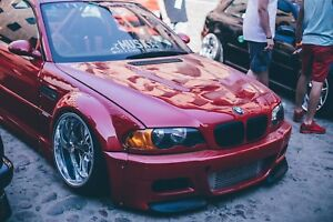 Details about BMW E46 M3 FRONT BUMPER SPLITTERS BY MUSK CUSTOMS