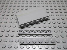 Lego 10 Platten 1x6 flach althellgrau Noppen offen 3666  Set 2995 8479 3311 5550