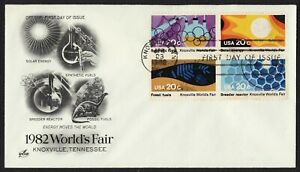 #2009a 20c Knoxville World's Feria, Art Craft FDC Cualquier 5=
