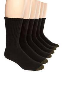Actif Gold Toe Homme En Coton Noir Ras-du-athletic Chaussettes, 12-paire De Chaussette Taille 10-13-afficher Le Titre D'origine Petit Profit