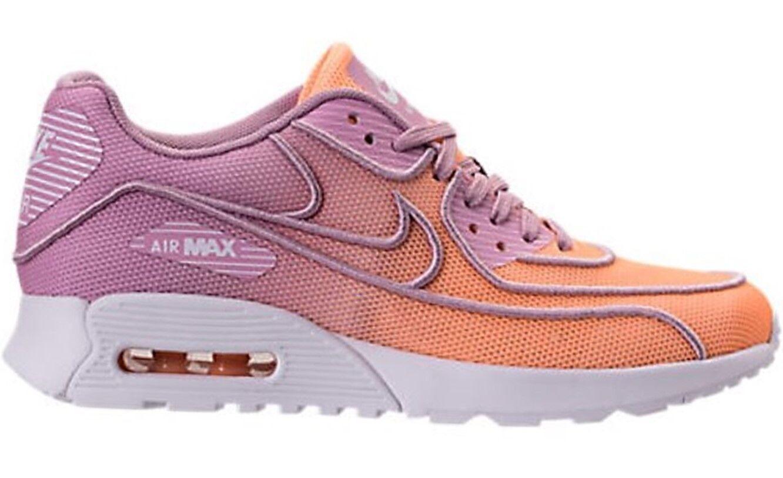 NEW Womens Nike AIR MAX 90 90 90 2.0 ULTRA Breathe sz 5 SUNSET GLOW Purple shoes cdc152