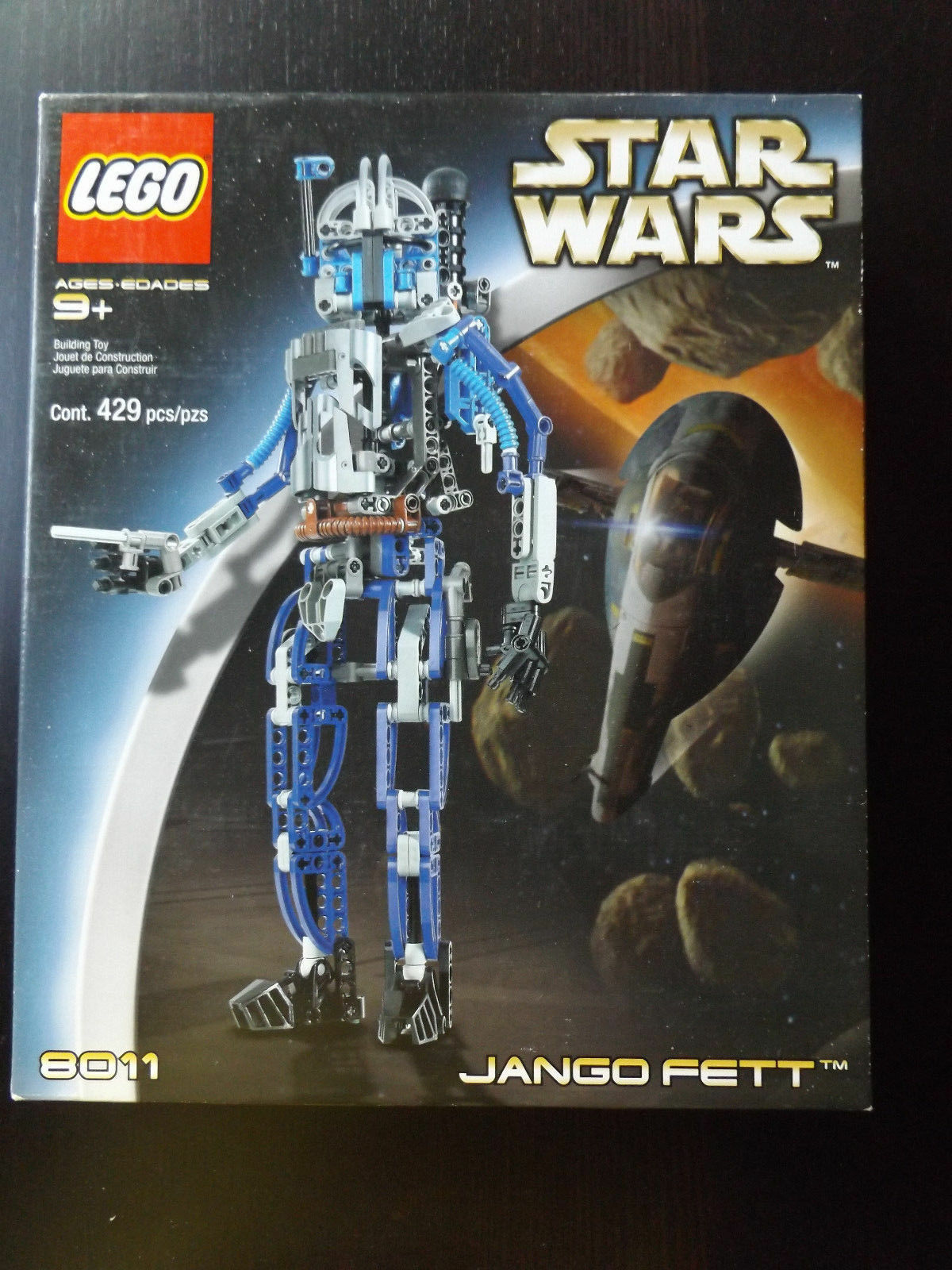 Lego Star Wars Technic Jango Fett  8011  Nuovo Sealed