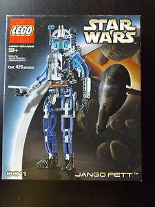 Lego-Star-Wars-Technic-Jango-Fett-8011-New-Sealed