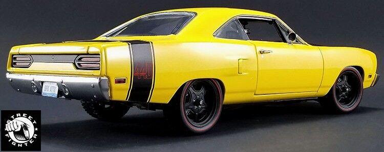1970 Plymouth Road Runner giallo  GMP 1 18 18837
