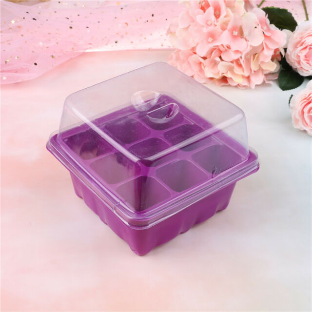 9 Hole Plant Seed Grow Box Insert Propagation Nursery Seedling Starter Tray  X