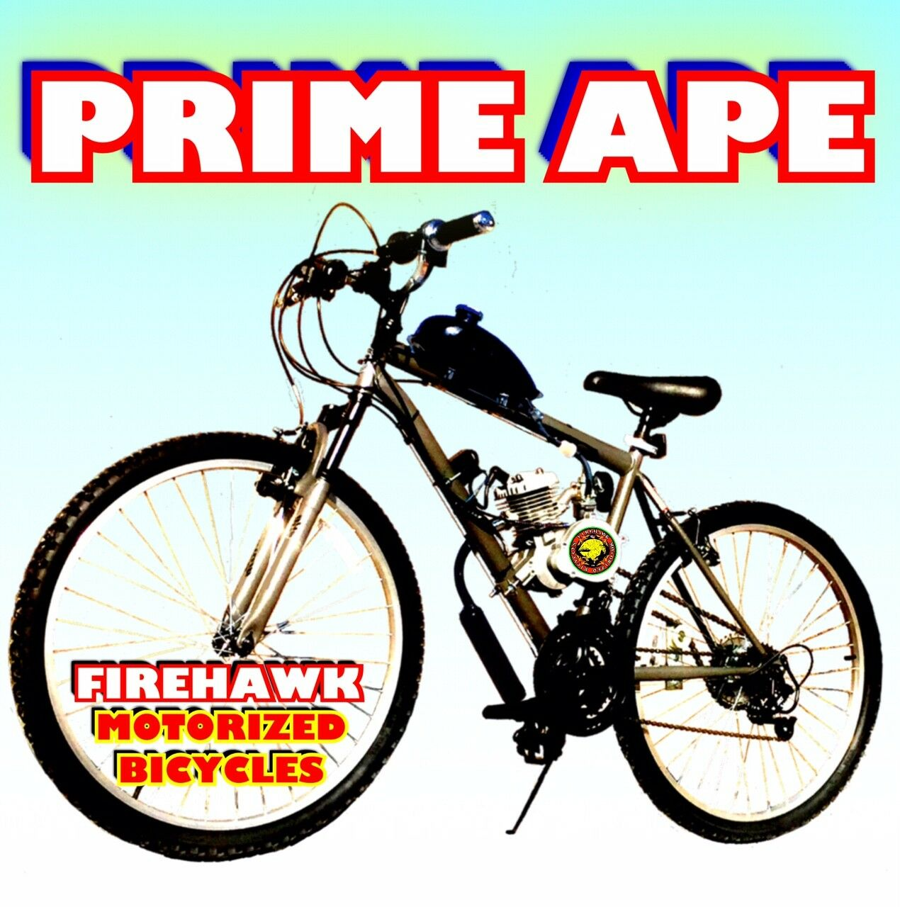 USA SELLER NEW 2019 PRIME APE COMPLETE 50 80 CC GAS MOTOR & BIKE SCOOTER MOPED