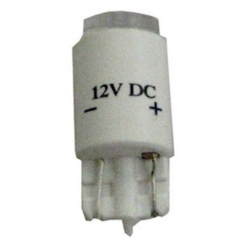 T10 12V LED, Sold pack of 5