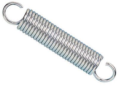 molla a trazione acciaio armonico zinc L41mm-ø9,5 mm filo 1 mm  98123  2xconf