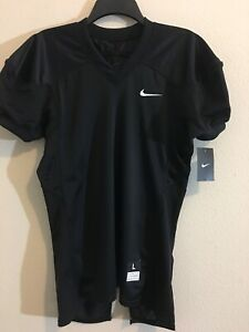 best sneakers d906c e7a22 Details about NWT Boys Nike Stock Vapor Youth Practice Football Jersey  BLACK $45