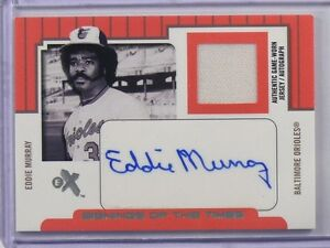 2004-EX-Signings-Of-The-Times-Eddie-Murray-auto-autograph-jersey-D49-50-40979