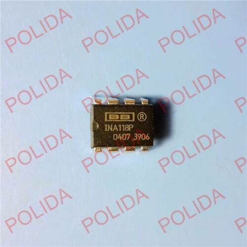 1PCS Instrumentation Amplifier IC BB//TI DIP-8 INA118P INA118PG4