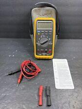 Fluke 87 True Rms Digital Handheld Multimeter Dmm Works But Display Issues Read