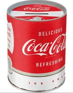 Spardose-Coca-Cola-Automat-Metall-13-cm-Money-Bank-Neu