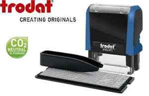 Image is loading TRODAT-4911-TYPO-PRINTY-SELF-INKING-DO-IT-