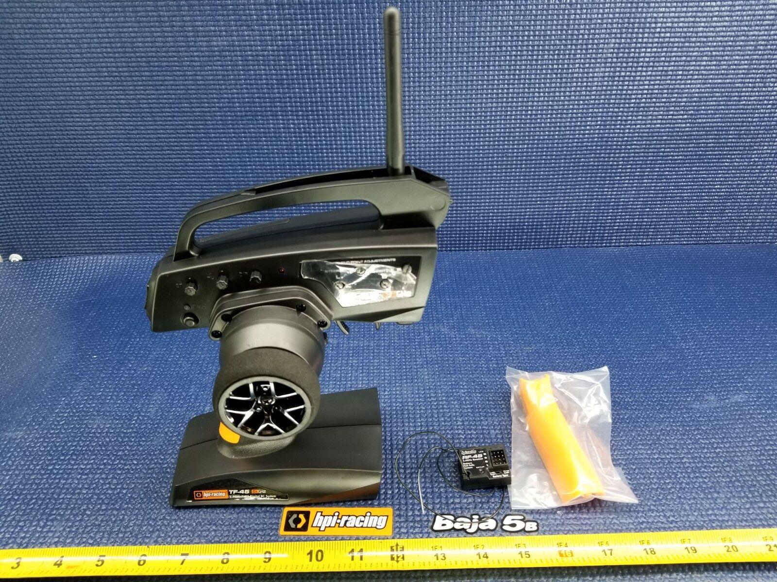 nuevo  Hpi TF-45 3-CH Radio transmisor receptor y RF-45