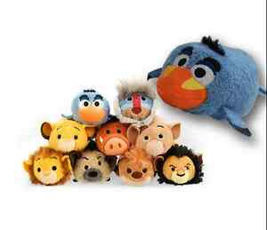 7 Styles Disney TSUM TSUM Lion King Rafiki Simba Nala Zazu Plush Toys With Chain
