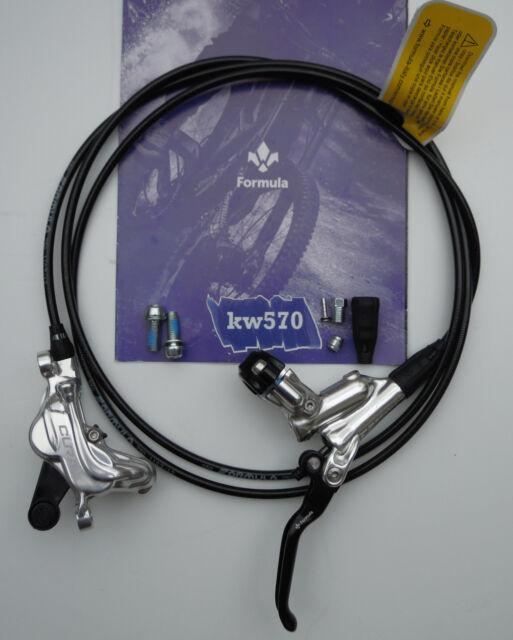Formula Brake system CURA 4//CURA4 Silver Polish standard//speed lock FD94175-4P