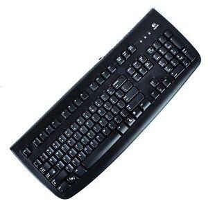 f30f23ac99f Image is loading Logitech-Wired-Keyboard-8676330043-YSAF76-PS-2-104-