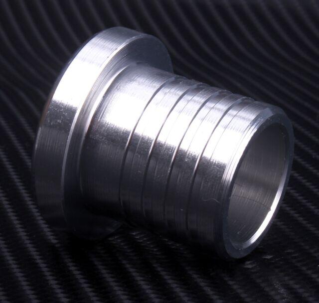 Alloy Hose Blanking Plug Bung Silver BOV Dump Valve New Aluminium CNC Pipe