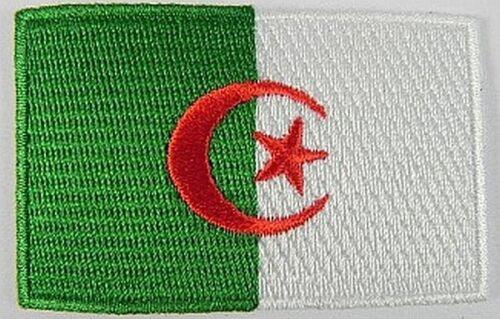 Algerien Aufnäher gestickt,Flagge Fahne,Patch,Aufbügler,6,5cm,neu