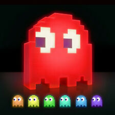 Multi-colored USB Powered Pac-man Ghost Light  Sound-activated Desk Night Light