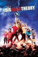 The Big Bang Theory Season 5 Cast 24x36 Tv Poster Jim Parsons Kaley Cuoco