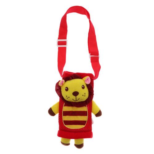 Kids Water Drink Bottle Pocket Carrier Sleeves Tote Bag with Adjustable Straps