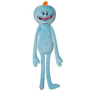 NEW-Rick-And-Morty-Adult-Swim-Stuffed-Plush-Happy-Mr-Meeseeks-Gift