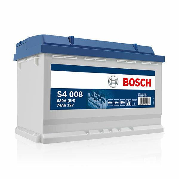 Batterie tourisme BOSCH Bosch S4008 74Ah 680A