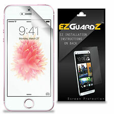 5X EZguardz NEW Screen Protector Skin Cover Shield HD 5X For Apple iPhone 5SE