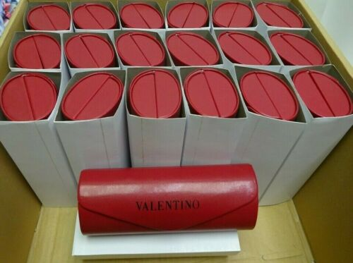 WHOLESALE LOT VALENTINO SUNGLASSES CASE RED CASE NEW 30 PIECE