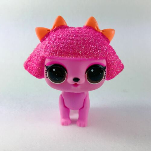 LOL Surprise doll FUZZY PETS Makeover Series 5 Glitter Queens Dog No Fuzzy