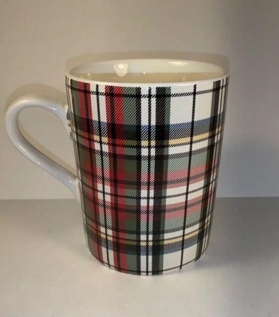 1 Pottery Barn Tartan Scottish Plaid Coffee Mug