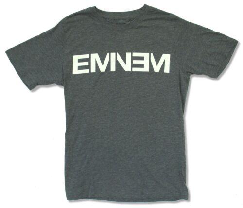"EMINEM /""WHITE LOGO/"" HEATHER BLUE T-SHIRT NEW OFFICIAL ADULT HIP HOP SLIM SHADY"