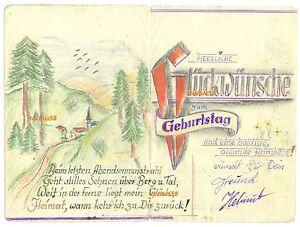 Schone Malerei Geburtstag Gluckwunsche Kalligraphie Dorf Natur