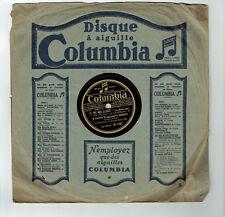 78T LYS GAUTY Vinyle Phonographe J'AIME TES GRANDS YEUX Chanté COLUMBIA DF 1102