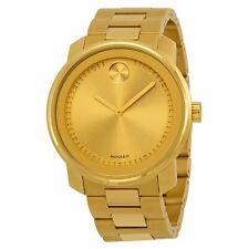 Movado Bold Champagne Dial Gold-tone Men's Watch 3600258
