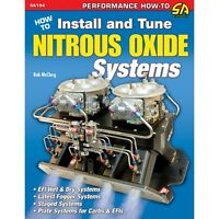 Sa194p How To Install & Tune Nitrous Oxide Systems Fogger Plate One & Two Stage