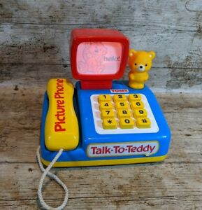Vintage-1988-TOMY-Talk-To-Teddy-Rare