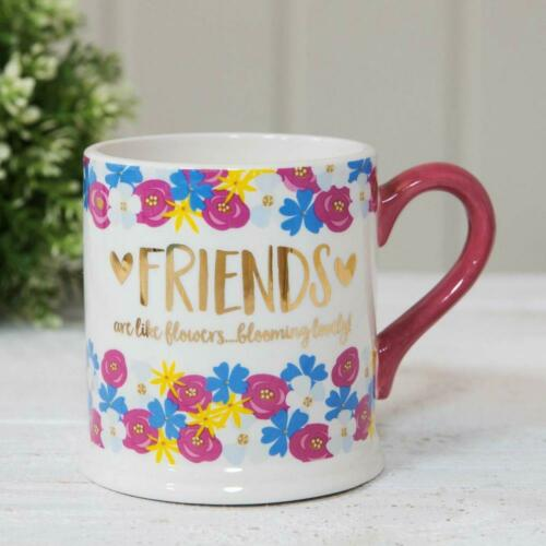 Quicksilver Coffret cadeau mug amis sont comme des fleurs Blooming Lovely