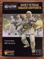 Bolt Action, 2nd Edition: Soviet Soviet Veteran Squad in Snowsuits