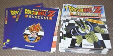 DRAGON BALL Z-SCACCHI-VOLUME 1 & 2-VOL.I-II-DeAGOSTINI EDITORE-1999- 2 VOLUMI