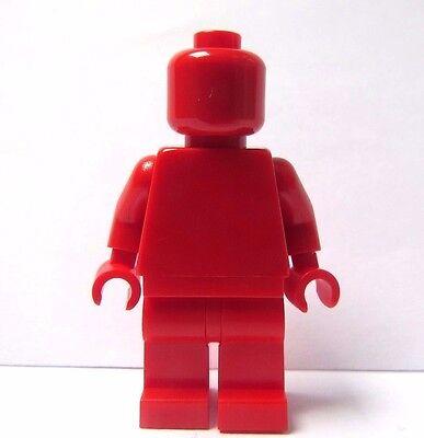 LEGO Plain Minifigure Figure  Red Head Body Torso Legs Leg