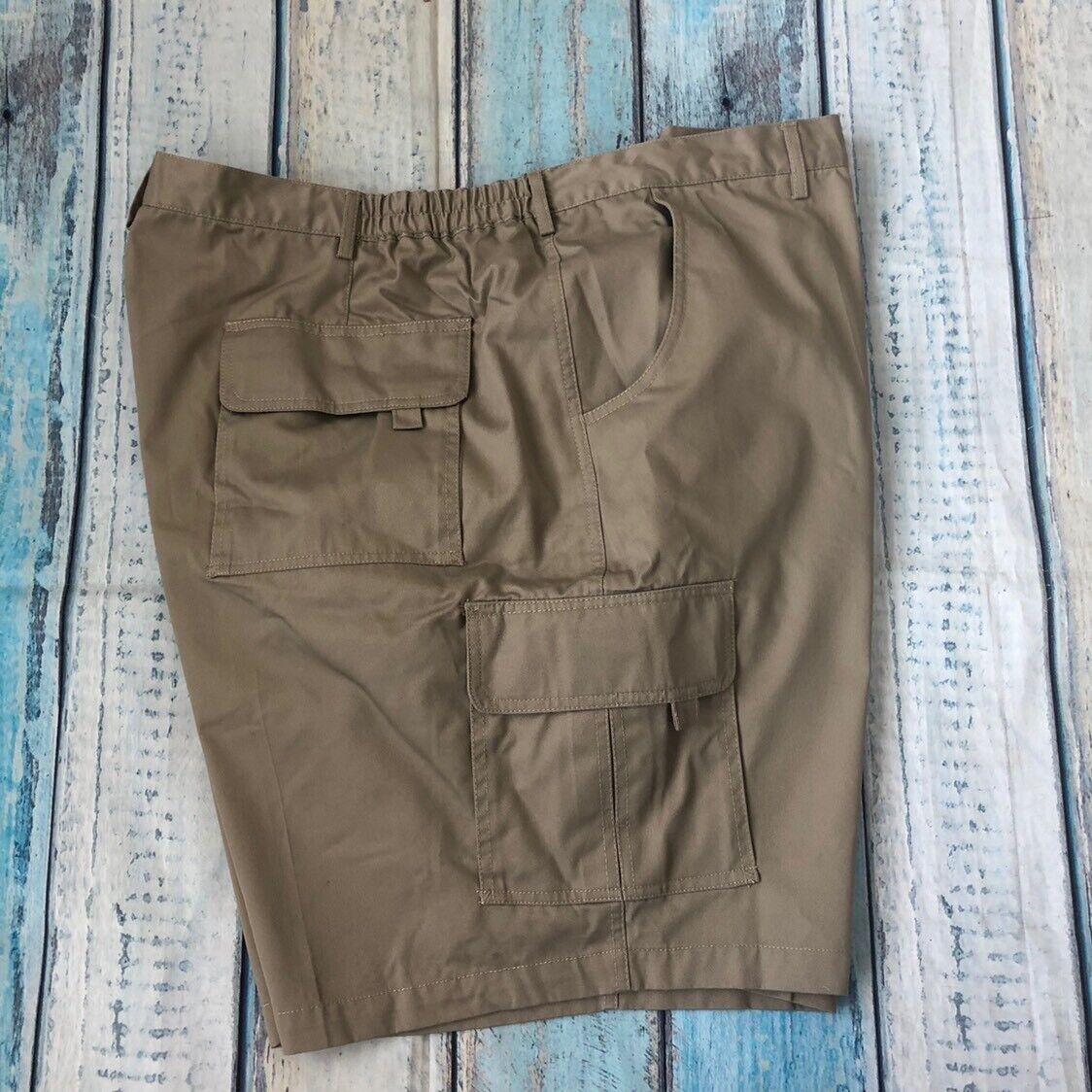 NWT Falcon Bay Sportswear Sz 52 Men's Shorts Stain Resistant Brown Cotton New