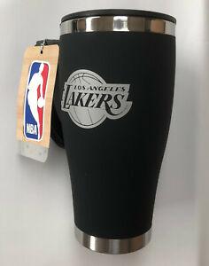 Official NBA LA Lakers Executive Thermal Insulated Coffee Travel Mug Flask