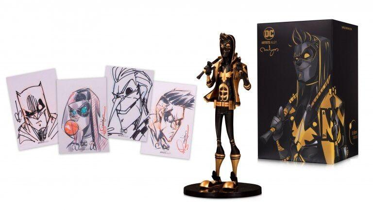 DC artista callejón Nightwing diseñador con edición limitada de 200 Autografiada nooligan