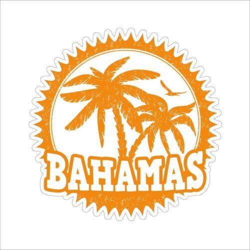 3M Graphics Bahamas Orange Vinyl Car Truck Window Decal Sticker Helmet Decor