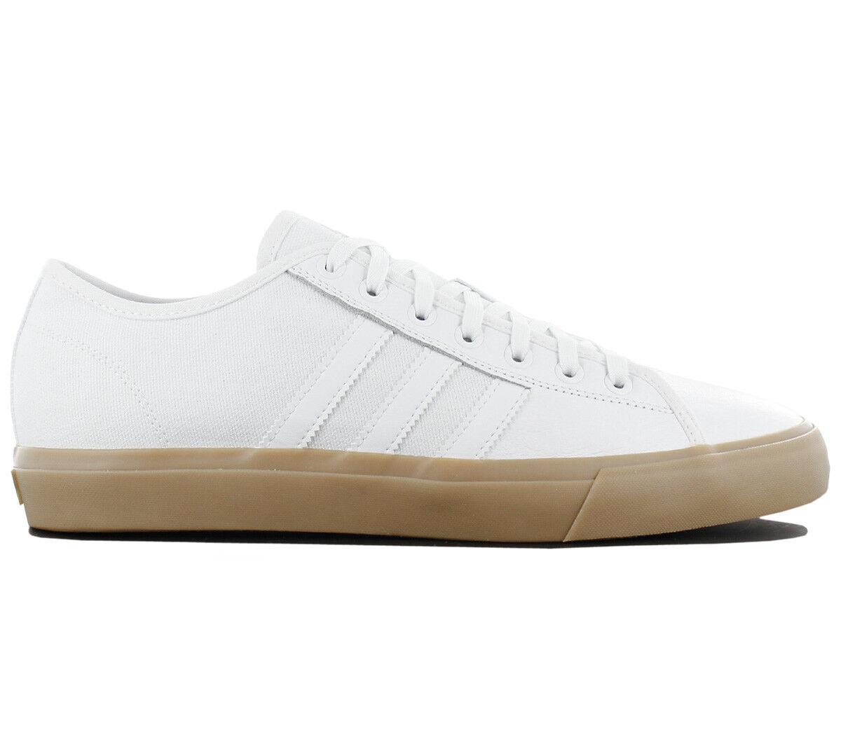 adidas Originals Matchcourt RX Herren Turnschuhe Schuhe Turnschuhe Weiß BY3986 NEU