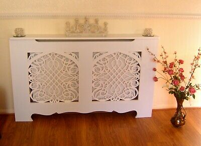 Fantastic French Gothic Style Shabby Chic Radiator Cabinet Cover Download Free Architecture Designs Scobabritishbridgeorg